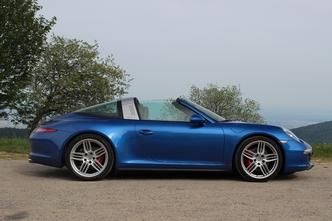 Porsche 911 Type 991 Targa : en avant-première, les photos de l'essai