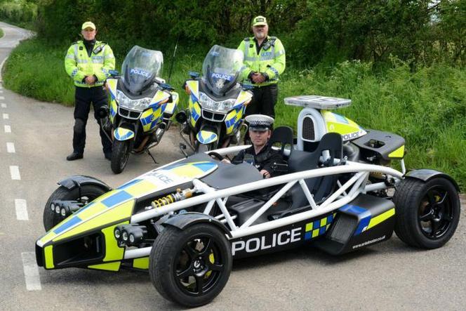 Une Ariel Atom de 350 ch pour la police britannique