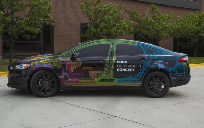 Ford Lightweight Concept: moins de 1200 kg pour une familiale