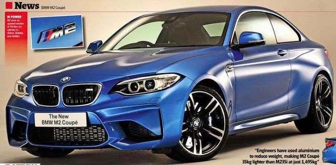 Scoop : la BMW M2 s'échappe sur la toile