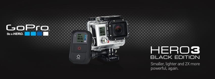 Nouveauté : la GoPro Hero 3, plus légère et en 4K