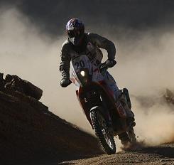 Rallye du Maroc 2009 : étape 3, Despres prend la tête pour une minute