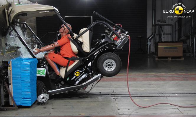 Euro-NCAP a testé et crashé les quadricycles lourds : c'est pas joli joli...