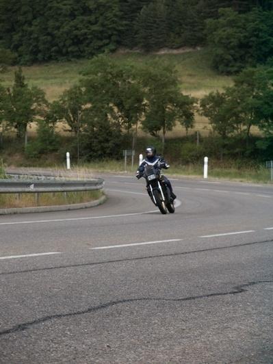 Essai Yamaha TDR 250 : une friteuse, une !