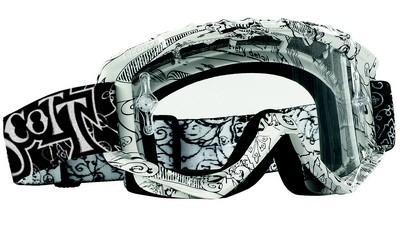 Scott 89 XI Style : un masque à l'inspiration psychédélique.