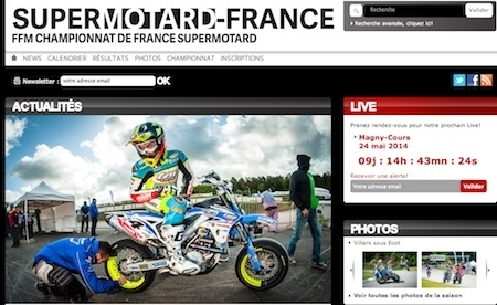 FFM: un site dédié au Supermotard français