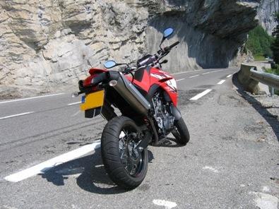 Yamaha XT 660 X de 2006 : là-haut sur la montagne était un nouveau XT.