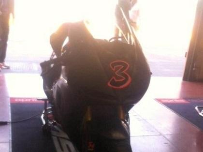 Moto GP: Max Biaggi se remet au travail pour Aprilia