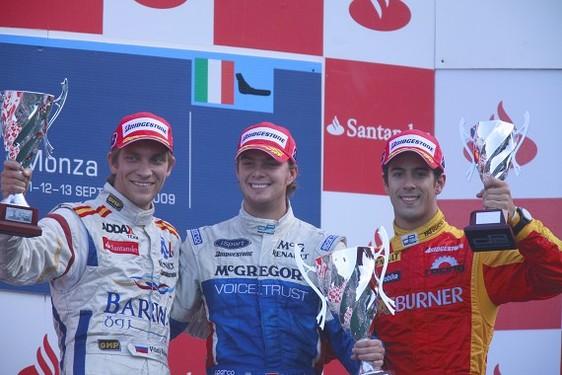 GP2 Monza Course 1 : Van der Garde premier au port