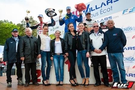 Championnat de France Supermotard 2014: Thomas Chareyre s'impose à Villars