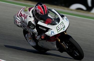 GP 125 de San Marin : Louis Rossi fait 500 mètres, moteur cassé