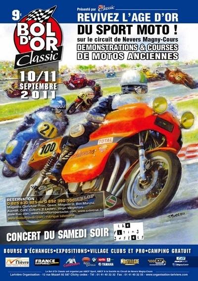 9ème Bol d'Or Classic ce week-end sur le circuit de Nevers Magny-Cours.