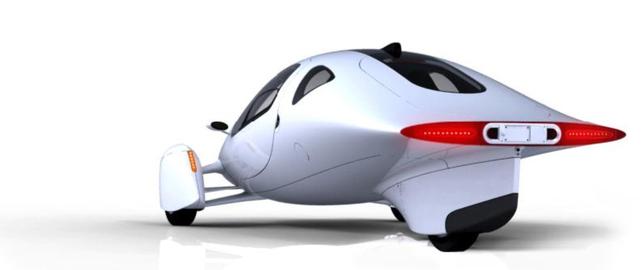 Des nouvelles d'un véhicule électrique à 3 roues : l'Aptera 2e