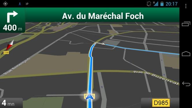 Google Maps Navigation Un Gps Evolutif Et Gratuit