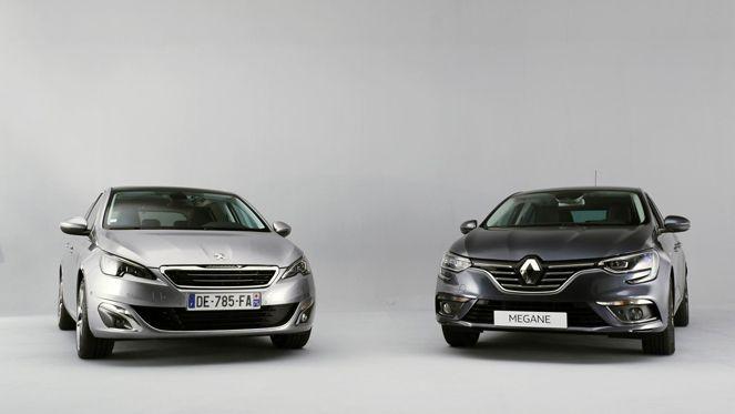 Face-à face vidéo - Renault Mégane 4 vs Peugeot 308 : premier set