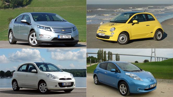 Quelle voiture verte acheter en 2012 ?