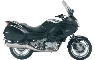 Honda Deauville NT 700 V: plus de coffre.