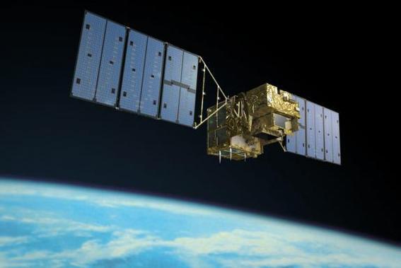 Les rejets de gaz à effet de serre mesurés par un satellite