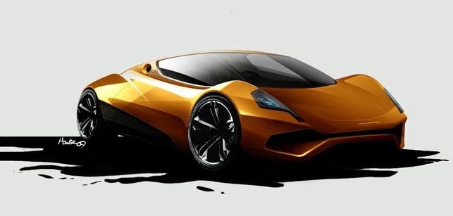 Un projet de voiture de sport électrique : la JJAD P1-E