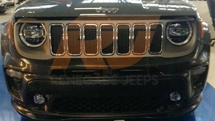 Jeep : première image du Renegade restylé