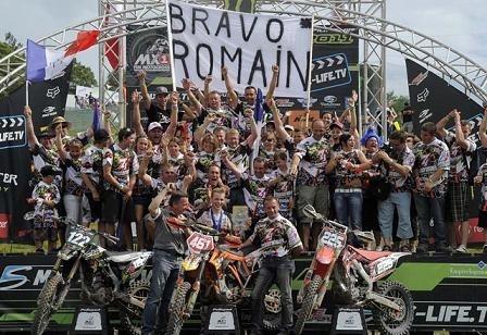 Interview Romain Febvre, champion d'Europe MX 2