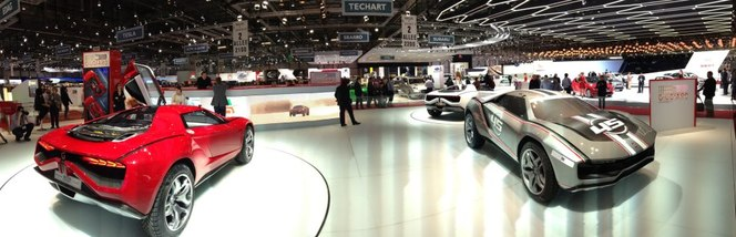 En direct du salon de Genève 2013 : Giugiaro Parcour, nouvelle Mega Track ?