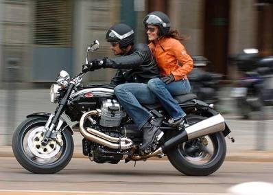Moto Guzzi Griso 850 V ie  : grisante ? si peu...