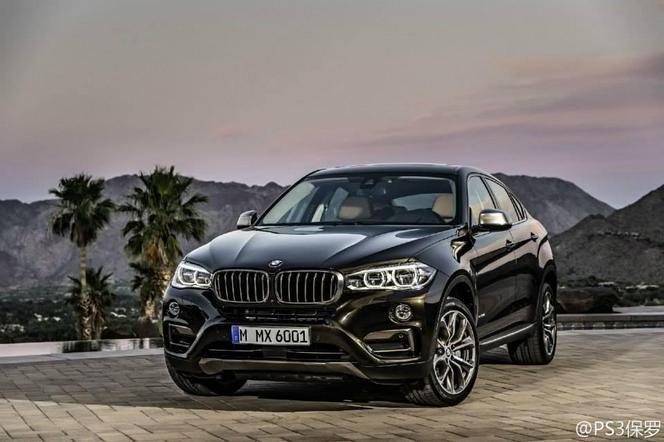 Voici le nouveau BMW X6 !