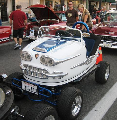 Insolite : Hot Rod tamponneuse Street Legal