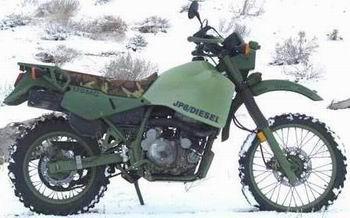 Moto diesel : bientôt en série.