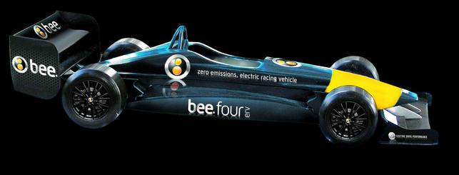 Une voiture de course électrique concoctée par Bee Automobiles