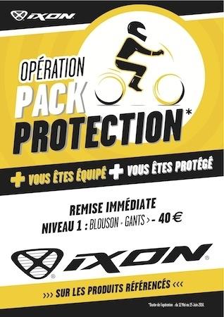 Opération Pack protection: Ixon double la remise de la sécurité routière