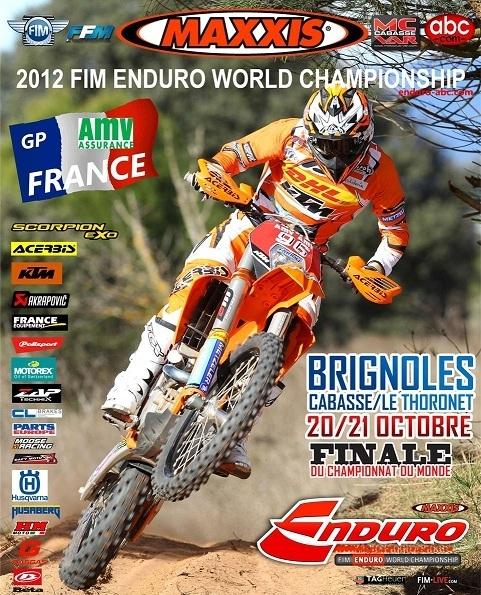 Enduro mondial : La dern' 2012 chez nous à Brignoles