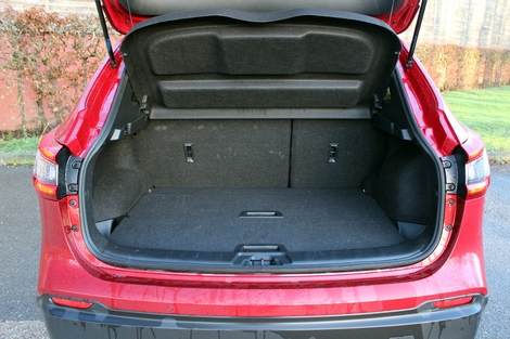 Avec 500 litres, le coffre se situe dans la bonne moyenne de la catégorie.