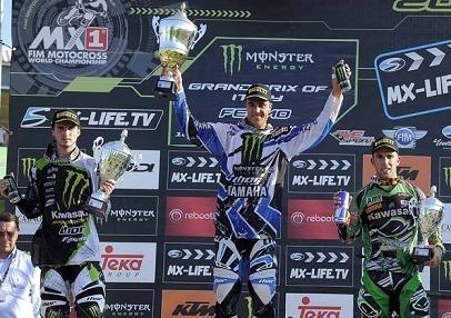 Motocross mondial : GP d'Italie MX 1, Gautier Paulin remporte le GP
