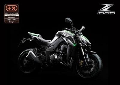 Kawasaki: la Z1000 primée pour ses formes