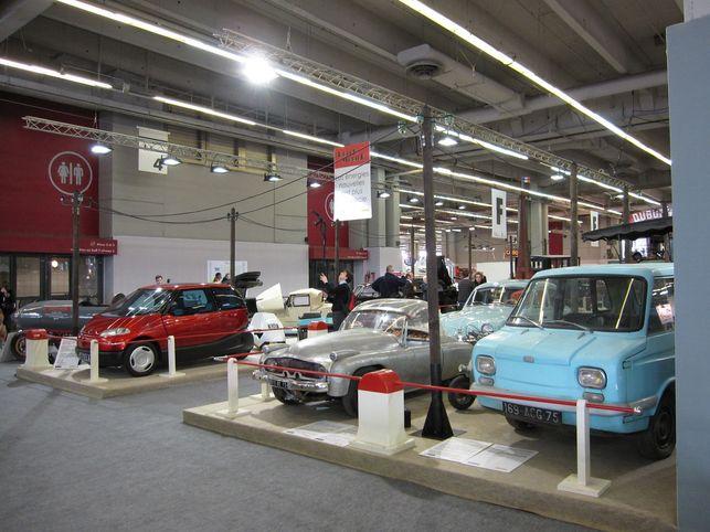 Reportage au Salon Rétromobile 2009 : les véhicules anciens non polluants