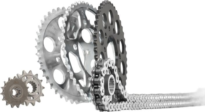 Kit chaîne Saito pour les motos de 125 à 1250cm3