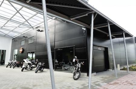 La 50 ème concession Harley-Davidson a ouvert ses portes à Valenciennes