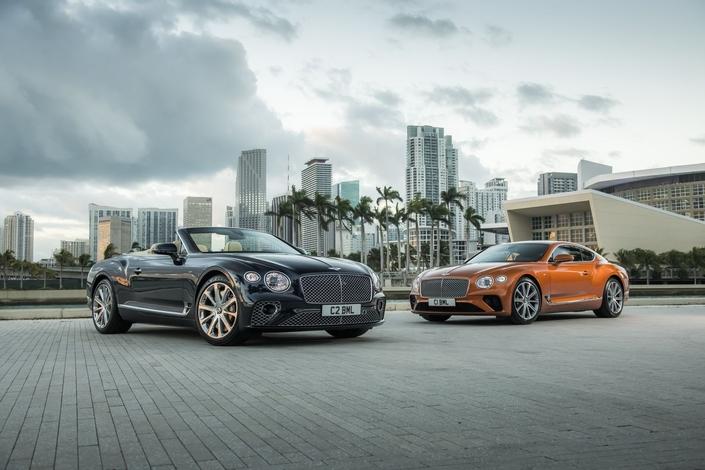 Bentley Continental GT:après le W12, le V8