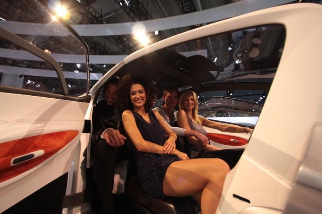 Direct Francfort : Peugeot BB1, concept de proximité intérieure