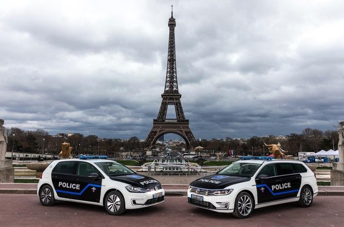 La Police de Paris reste fidèle à Volkswagen