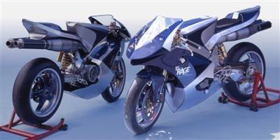 Blue Rage 800 : fusion de technologie