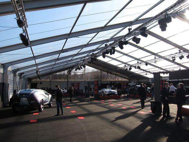 Reportage sur le Festival Automobile International : l'exposition Concept Cars et les Grands Prix
