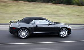 Chevrolet Camaro cabriolet : premières photos