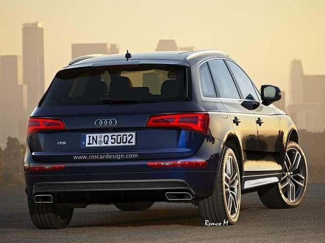 Design : un graphiste imagine le futur Audi Q5