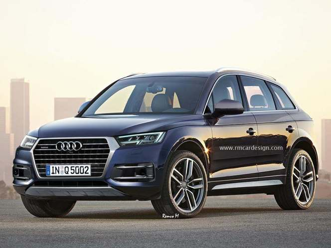 Design : un graphiste imagine le futur Audi Q5