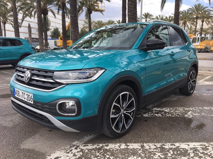 Volkswagen T-Cross : les premières images de l'essai en live + Premières impressions