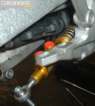 Essai maître cylindre arrière Beringer: racing pour de vrai!