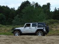 Le Jeep Wrangler élu 4x4 de l'année 2008